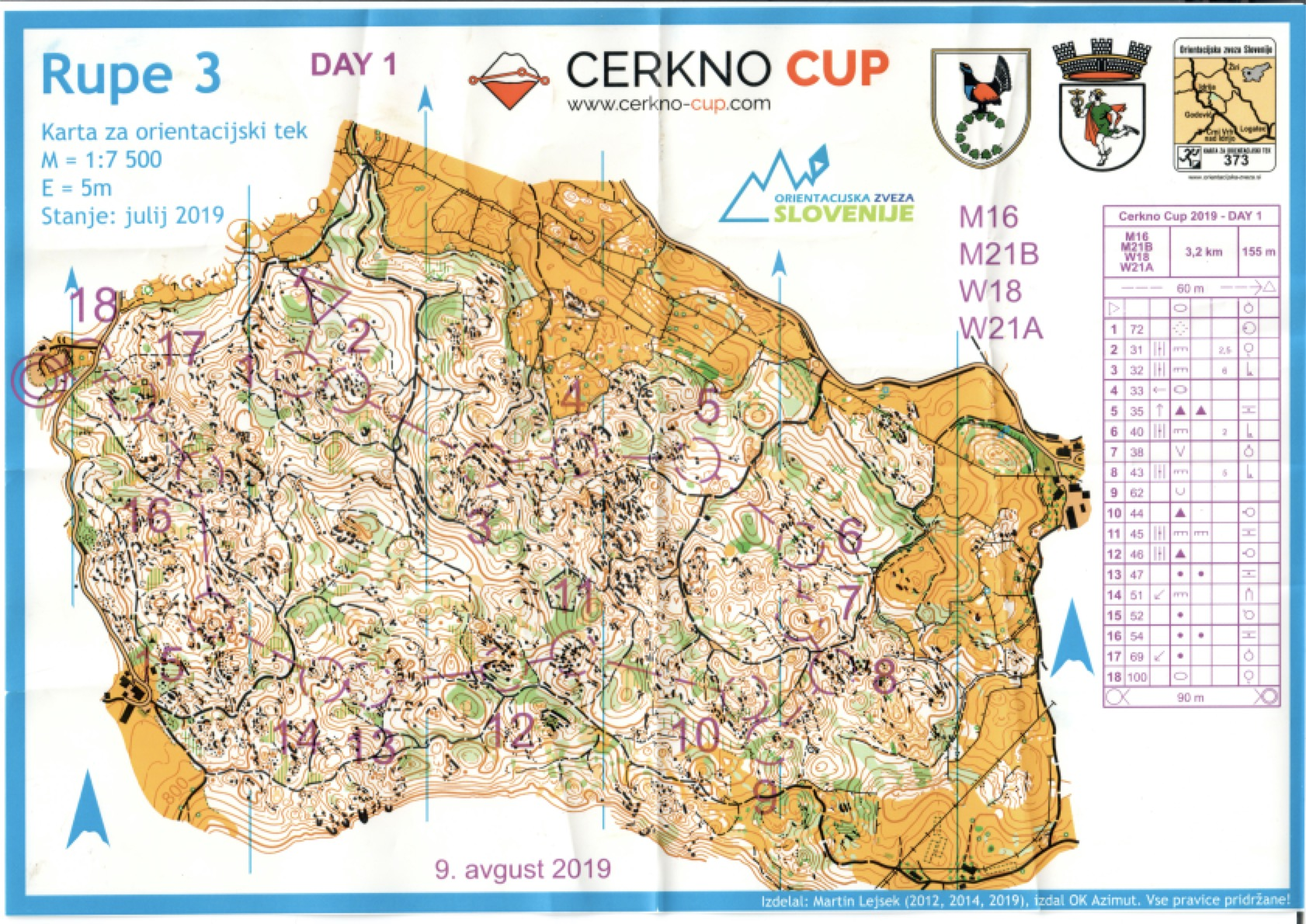 Cerkno Cup (2019) - Day 1 (09/08/2019)